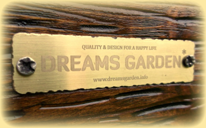 We guarantee that the products labeled DREAMS GARDEN * It's the highest quality products